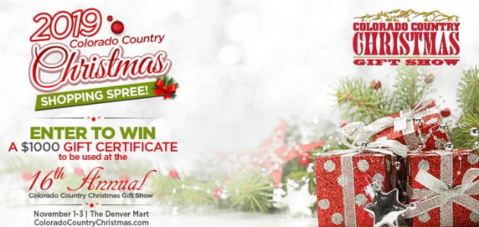 Colorado Country Christmas Shopping Sweepstakes – Win Gift Card