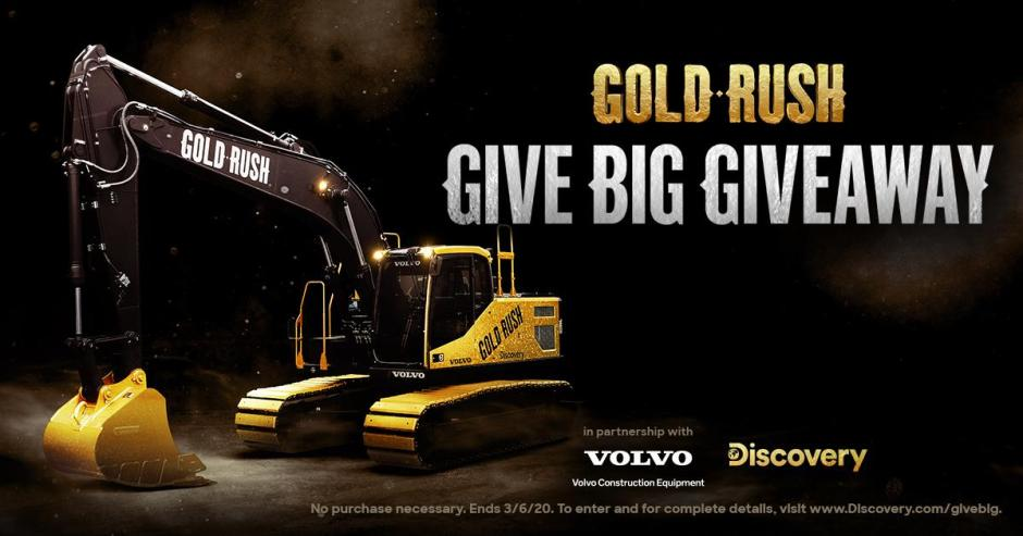 Discovery Gold Rush Give Big Giveaway - Win Prize