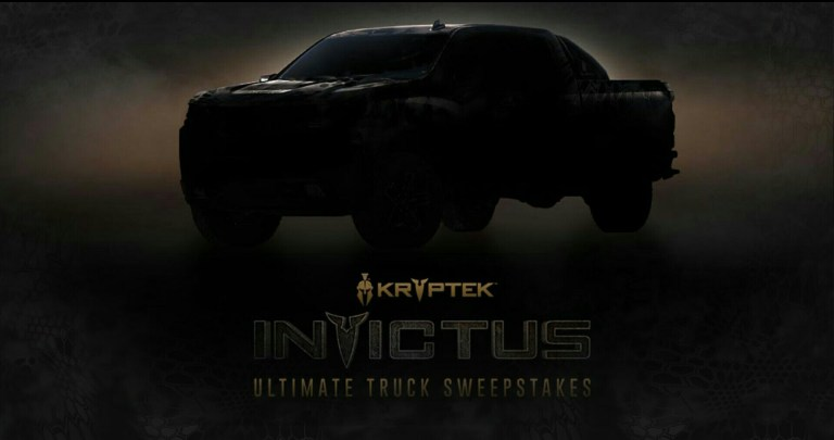 CarbonTV Kryptek Invictus Sweepstakes - Win Cash Prize
