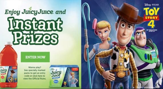 Juicy Juice Game Sweepstakes - Win Game