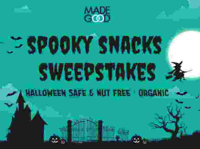 Made Good Spooky Snacks Sweepstakes - Win Gift Card