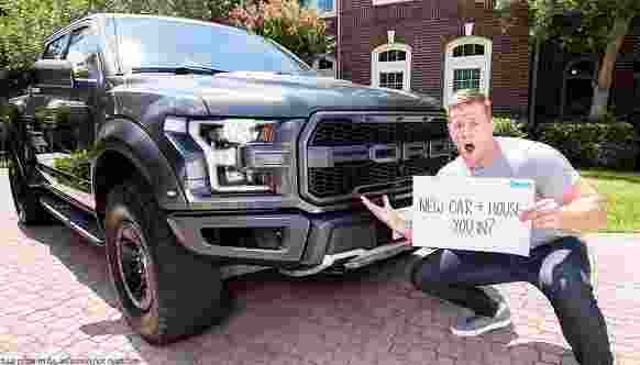 Omaze JJ Watt Houston House Car Sweepstakes - Win Trip