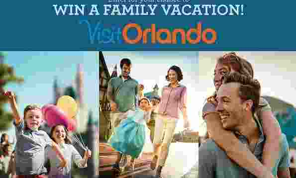 Orlando Family Vacation Sweepstakes - Win Trip