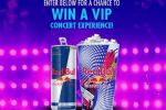 Red Bull VIP Music Sweepstakes - Win Tickets