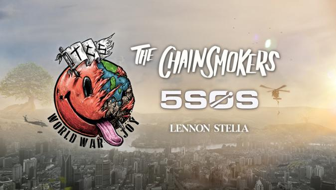 SiriusXM Chainsmokers Sweepstakes - Win Tickets