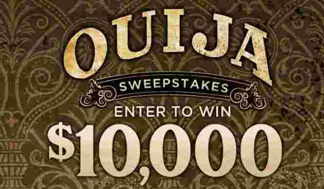 Spirit Halloween Ouija Sweepstakes - Win Check