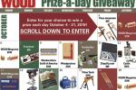 WOOD Magazine Prize A Day Giveaway – Win Prize