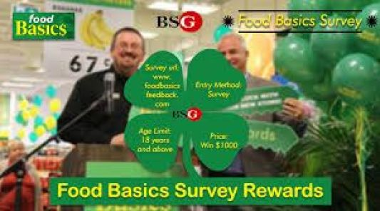 Food Basics Feedback Survey Contest
