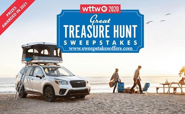 WTTW Great Treasure Hunt Sweepstakes