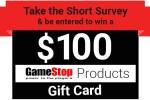 Tell GameStop Feedback Survey - Win Gift Card