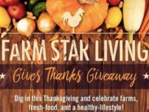 Farm Star Living Gives Thanks Giveaway - Win Gift Card