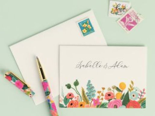 Rifle Paper Co for Paper Source Wedding Sweepstakes - Win Gift Card