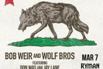 Bob Weir And The Wolf Bros Sweepstakes - Win Tickets
