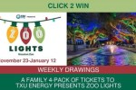 CLICK 2 WIN Zoo Lights Family Pack Giveaway - Win Trip