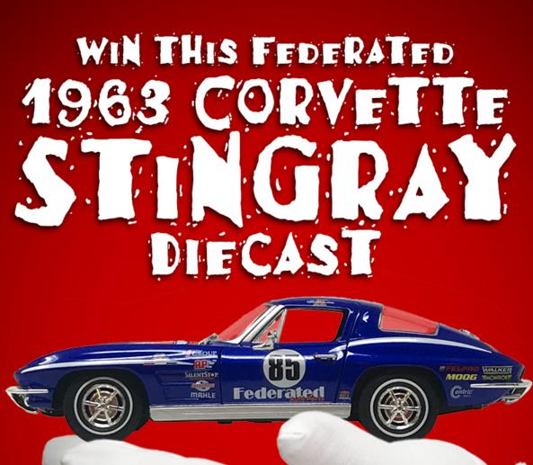 Federated Holiday Diecast Giveaway - Win Car