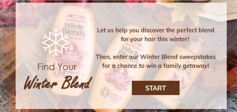 Whole Blends Find Your Blend Sweepstakes - Win Trip