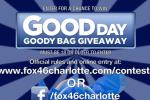 Fox46charlotte Good Day Goody Bag Giveaway - Win Gift Card
