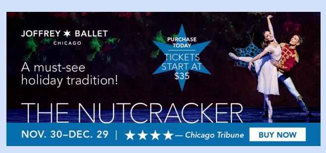 Joffrey Ballet The Nutcracker Contest - Win Tickets