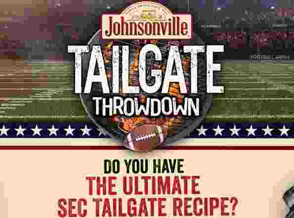 Johnsonville Tailgate Throwdown Contest - Win Trip