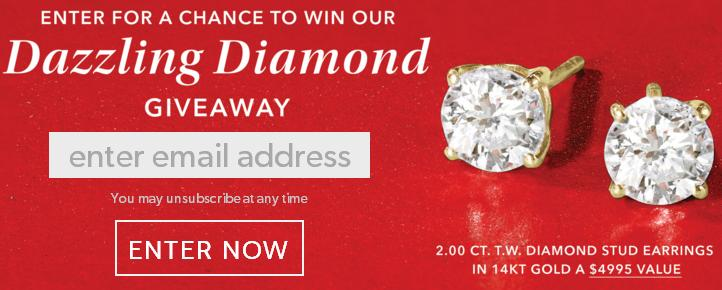 Ross Simons Very Merry Diamond Giveaway - Win Prize