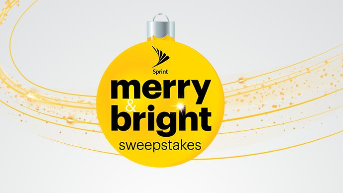 Sprint Merry & Bright Sweepstakes - Win Car
