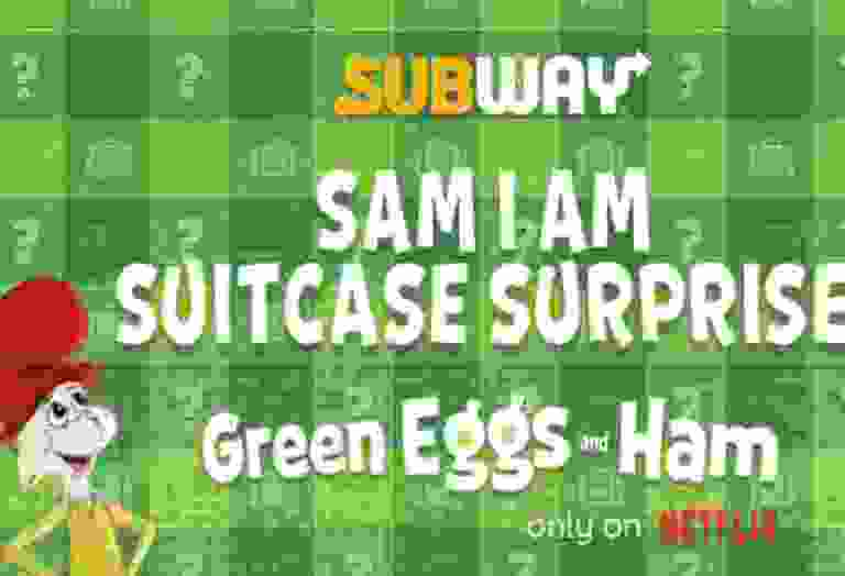 Subway Sam I Am Suitcase Surprise Sweepstakes - Win Trip