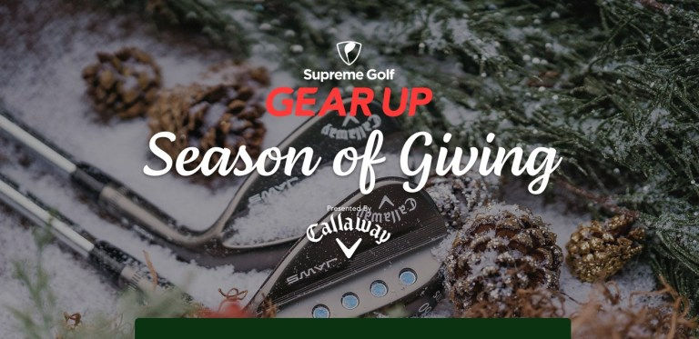 Supreme Golf Season Of Giving Sweepstakes - Win Cash Prizes