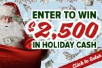 Wallace Management Santa Sweepstakes - Win Cash Prizes
