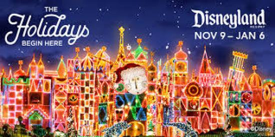 KSON Disneyland Holiday Sweepstakes - Win Tickets