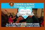 Lerner and Rowe's 2019 Turkey Giveaways