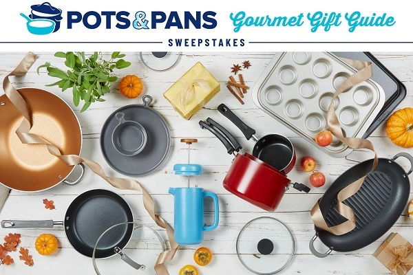 Pots and Pans Gourmet Gift Guide Sweepstakes - Win Prize