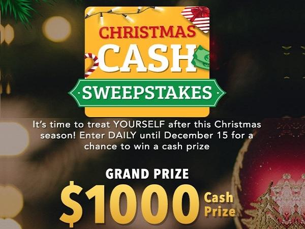 ShopLC Christmas Cash Sweepstakes