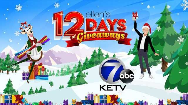 KETV Ellen 12 Days of Giveaway - Win Prize