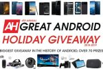 The Great Android Holiday Giveaway - Win Prize