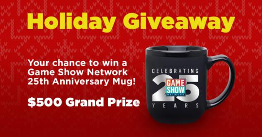 Game Show Network Holiday Giveaway - Win Gift Card