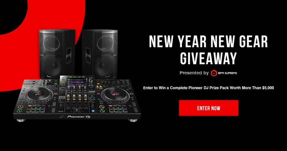 BPM Supreme New Year New Gear Sweepstakes - Win Prize