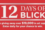 12 Days of Blick Art Supplies Giveaways - Win Prize