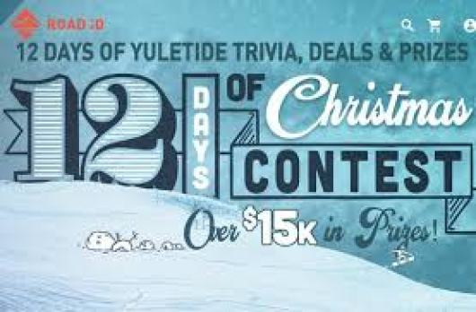 Road Id 12 Days of Christmas Contest - Win Cash Prizes
