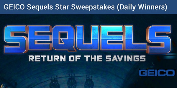 Geico Sequels Sweepstakes - Win Gift Card