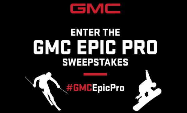 GMC Epic Pro Sweepstakes - Win Gift Card