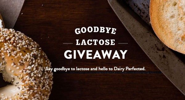 Goodbye Lactose Giveaway - Win Prize