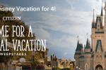 Citizen Watch Walt Disney World Vacation Sweepstakes - Win Trip