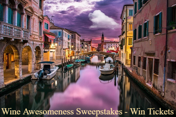 Wine Awesomeness Sweepstakes - Win Tickets