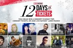 Live Nation 12 Days of Tickets Giveaway - Win Tickets
