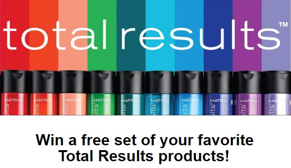 Matrix Total Results Sweepstakes - Win Prize