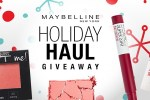 Maybelline Holiday Sweepstakes - Win Prize