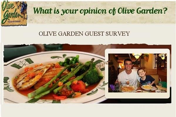 Olive Garden Guest Satisfaction Survey - Win Cash Prizes