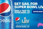 Pepsi Carnival Super Bowl LIV Sweepstakes - Win Tickets