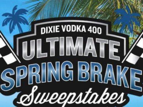 Dixie Vodka Ultimate NASCAR Spring Brake Sweepstakes