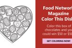 Food Network Magazine Color This Dish Contest - Win Cash Prizes